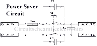 simple power saver electronic circuit