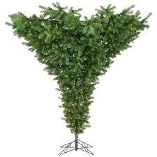 vickerman 9 unlit green artificial tree