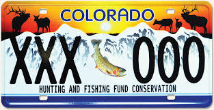 it s your special day plate colorado parks wildlife wildlife sporting plate