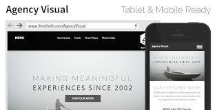 adobe muse mobile templates agency visual portfolio agency muse theme
