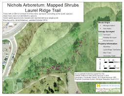 Arboretum by Arboretum Tree U0026 Shrub Data Matthaei Botanical Gardens U0026 Nichols