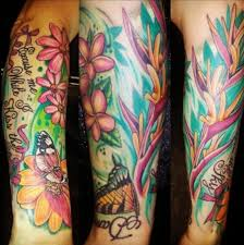color tattoos by southern california artist daniel