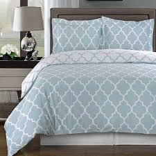 com navy and white meridian full queen 3 piece duvet cover set 100 cotton 300 tc home kitchen