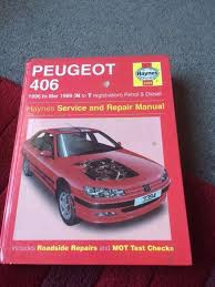 haynes service repair manual peugeot 406 1996 to 1997 n to t reg