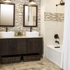 bathroom perfect glass tile backsplash pictures for your kitchen