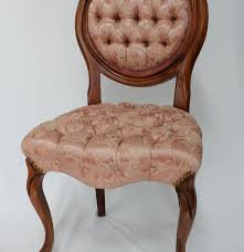 chair unusual victorian upholstered antique slipper side chair