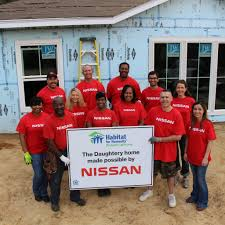 nissan armada for sale mississippi nissan canton employees work with habitat for humanity to build