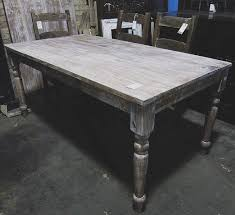 gray wash dining table farm dining table nadeau cincinnati