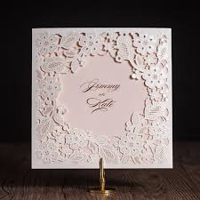Wholesale Wedding Invitations 9 Best Wedding Invitations Lace Floral Invites With Rsvp Response