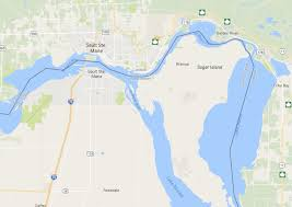 Canadian River Map Boating Or Fishing Along The Border Make Sure You Report In Or
