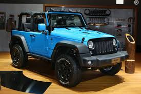rubicon jeep blue mopar one is a street legal off road pack for the jeep wrangler