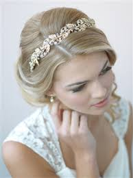 wedding headbands gold bridal headbands shop wedding accessories usabride