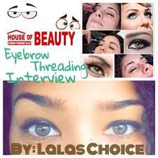 does eyebrow threading hurt lalas choice