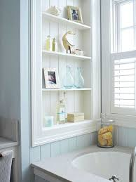 Shelves Between Studs by Practical Bathroom Storage Tips Shelving Spaces And Small Bathroom