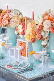 Tiffany Blue Wedding Centerpiece Ideas by Best 25 Orange Wedding Decor Ideas On Pinterest Orange Wedding