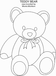 beautiful design ideas teddy bear coloring pages big baby