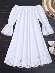 white dress white dresses flowy lace white dress online zaful