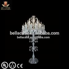 Chandelier Standing Lamp by Baccarat Chandelier Crystal Floor Standing Lamp Buy Crystal