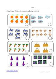 kidz worksheets preschool counting worksheet14