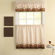 kitchen curtains swag style macy u0027s valances country kitchen