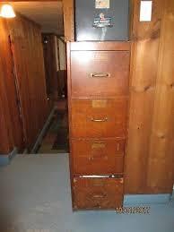 Vintage Oak Filing Cabinet Antique Oak Filing Cabinet By Library Bureau Sole Makers Picclick