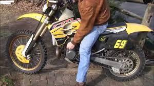 road legal motocross bike street legal suzuki rm 250 youtube