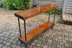 canapé grange table de canapé grange bois 2 niveaux