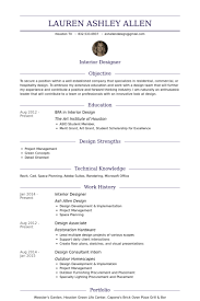 Sample Profiles For Resumes by Trump Dark Blue Interior Designer Resume Samples Writing A