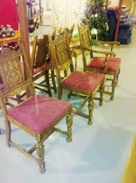 i have a antique jacobean dining room set table self stores