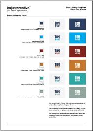 4 page logo u0026 identity guideline template for download the logo