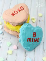 conversation heart conversation heart brownies sweet treats shaped like heart candies