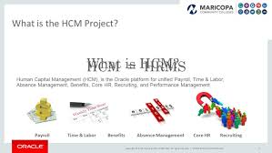 hcm stabilization and modernization project ppt download