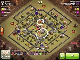 Coc Maps 6 Golem Ring Base 3 Star Attack Strategy Th10 Th11