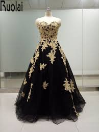 Black And Gold Lace Prom Dress Online Get Cheap 2016 Black And Gold Prom Dress Aliexpress Com