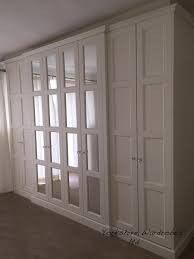 our edwardian hand painted fitted wardrobe wardrobes mirrored