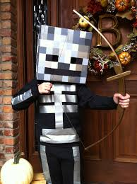 party city halloween costumes minecraft homemade minecraft skeleton costume halloween pinterest