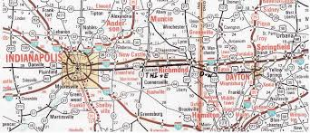 Map Of Springfield Ohio by D U0026w