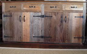 Reclaimed Barn Wood Kitchen Cabinets Kitchen Cabinet Barn Door Style Kitchen Cabinets Reclaimed