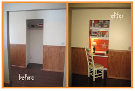 before and after hall closet desk diy show off diy