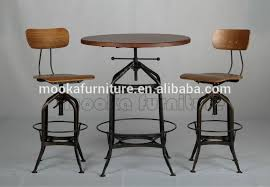 industrial bar table and stools sale industrial furniture replica adjustable toledo industrial