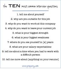 the 25 best most common interview questions ideas on pinterest