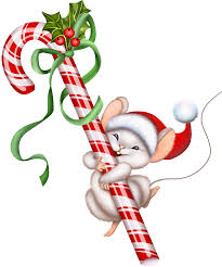 christmas candy cane and mouse png clipart graphics pinterest