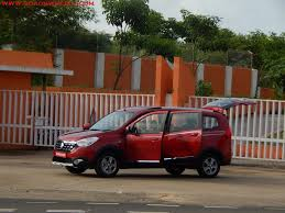 renault lodgy price renault lodgy stepway world edition drives into goa