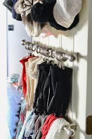 organize scarves french country home decor party decor ideas