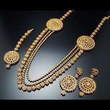 gold rani haar sets a stunning rani haar set made up with gold lct diamantes