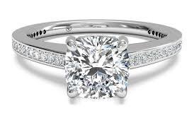 cushion diamond ring vintage cushion cut diamond ring pricescope