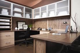 Fine Contemporary Home Office Design Idea In Moscow With Beige - Contemporary home office designs