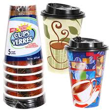 coffe cups bulk 16 oz disposable foam coffee cups with lids 5 ct packs at