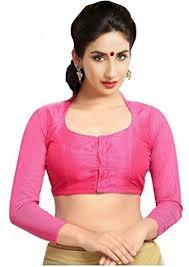 readymade blouse singaar pink readymade blouse high neck collar wear 3