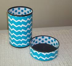 popular items for desk accessories on etsy cute funky chevron